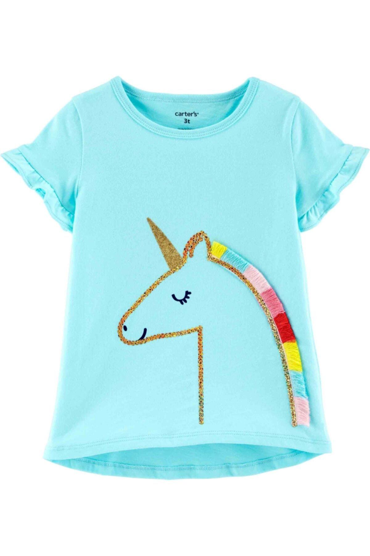 Carter's Küçük Kız Çocuk Tshirt 1