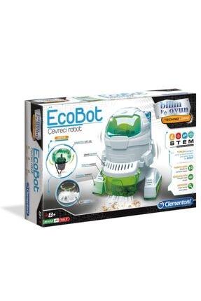 CLEMENTONI 64435 Ecobot /robotik Laborutavarı /bilimveoyun +8 Yaş