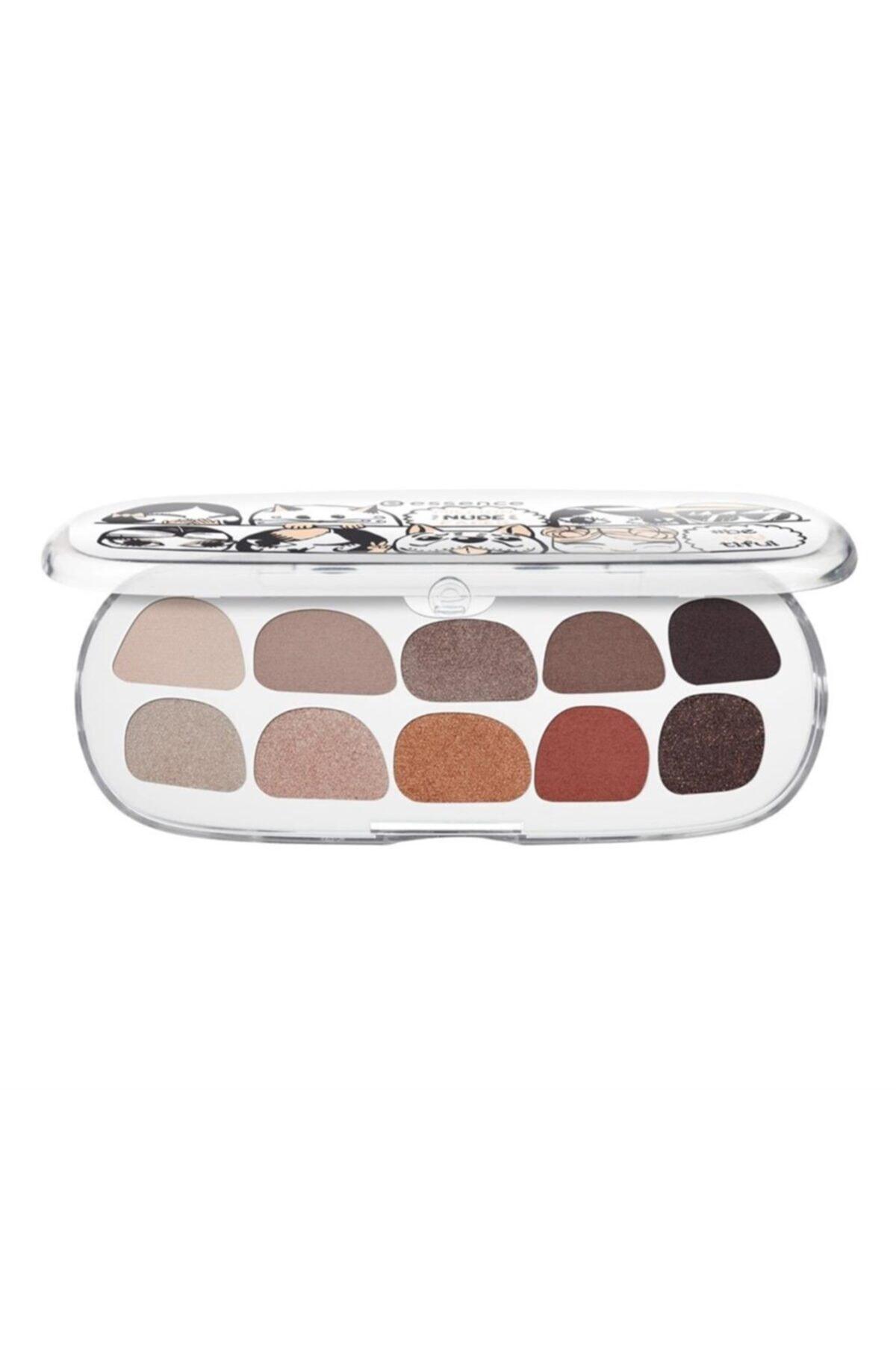 Essence Göz Farı Paleti - Million Nude Faces Eyeshadow Box 01 4059729005038 2