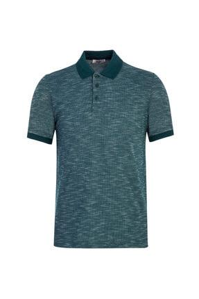 Kiğılı Erkek Polo Yaka Desenli Regular Fit  T-shirt