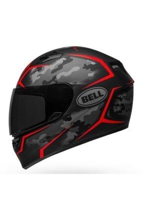 Bell Ps Qualifier Mat Siyah Kırmızı Kask
