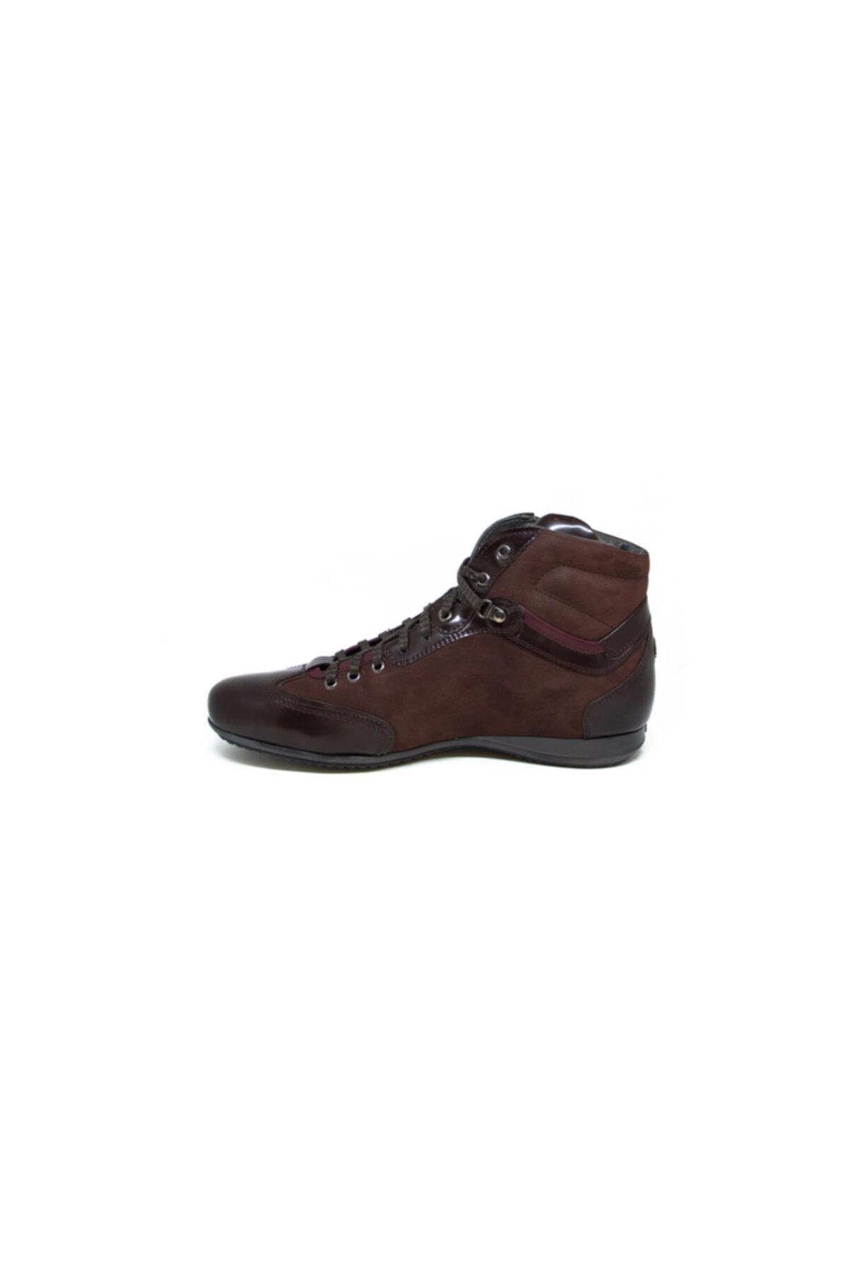 ALBERTO GUARDIANI Erkek Bordo Günlük Ayakkabı 2