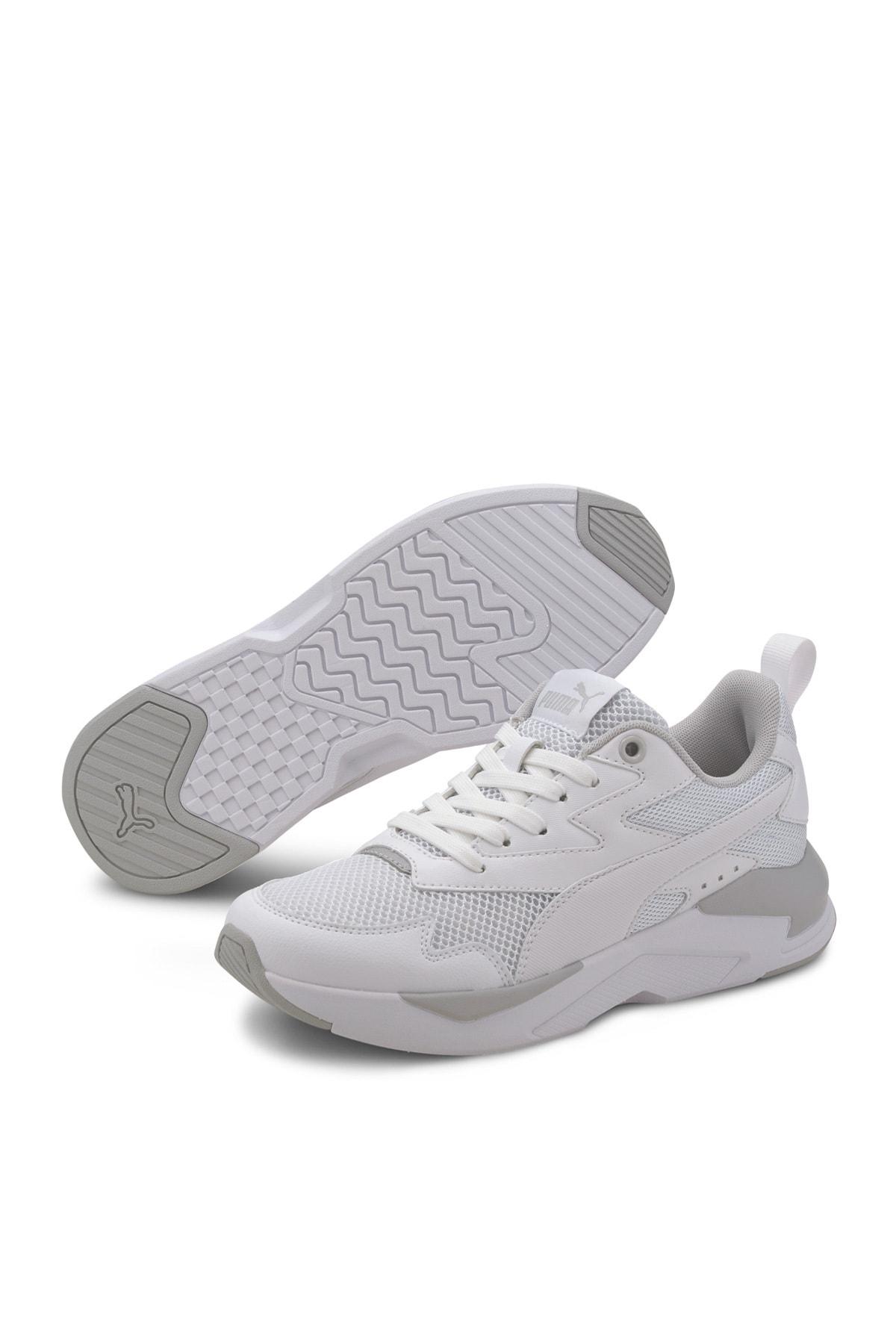 Puma X-RAY LITE JR Beyaz Kız Çocuk Sneaker Ayakkabı 100660673 1