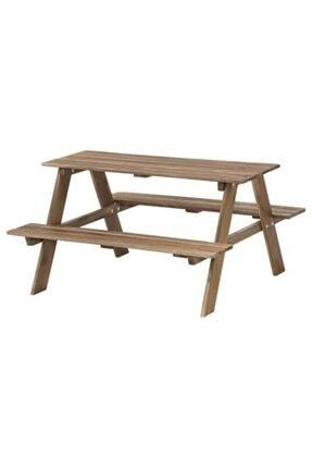 IKEA Reso Çocuk Piknik Masası 92x89x49 Cm, Ahşap