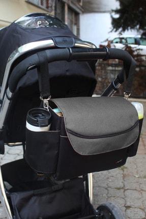 Bye Bye Bebek Arabası Düzenleyici Çanta(Stroller Bag)-gri