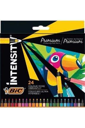 Bic İntensity Premium Keçeli Boya Kalemi 24 Renk