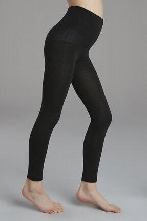 Penti Kadın Siyah Pretty Termal Tayt - 11-12