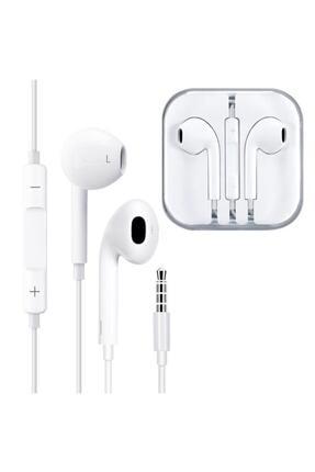 Emex Beyaz Kablolu Telefon Kulaklığı