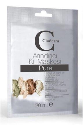 Claderm Kil Maskesi Sachet Pure 20 ml