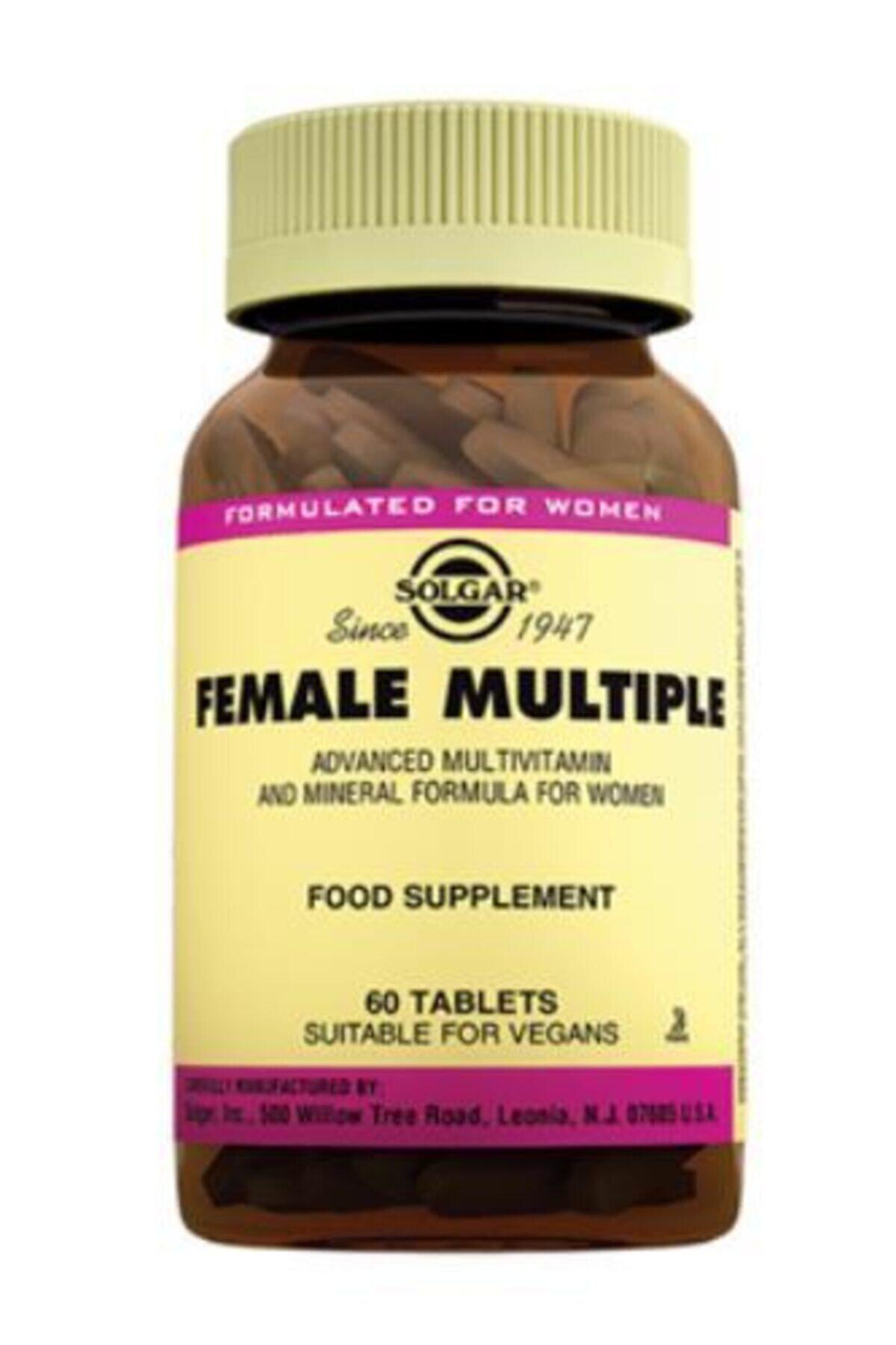 Solgar Female Multiple 60 Tablet 1