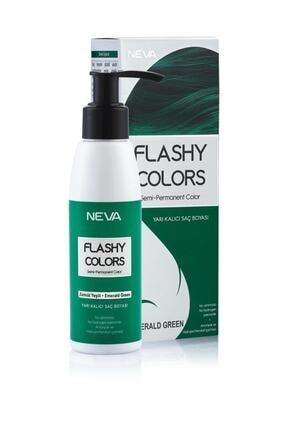Flashy Colors Saç Boyası Zümrüt Yeşili 100 ml