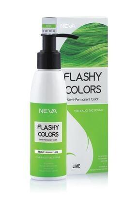 Flashy Colors Yarı Kalıcı Saç Boyası Misket Limonu 100 ml 8698636612814