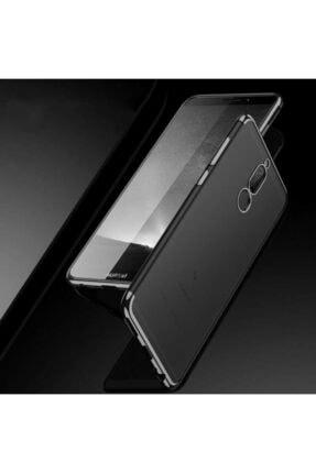 Huawei Mate 10 Lite Kılıf Lazer Boyalı Renkli Esnek Silikon Şeffaf