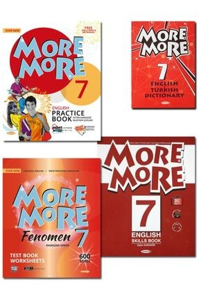 Kurmay ELT 7.sınıf More More Englısh Practıce And Fenomen Test Book 2021