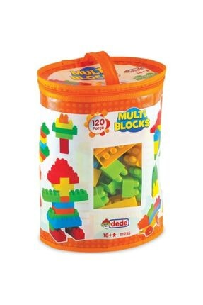 DEDE Eğitici Multi Blocks 120 Parça Oyuncak 01255