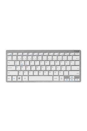 Inca Ibk-569bt Pilli Ultra Ince Bluetooth Akıllı Silver Klavye Windows+ios+android+tablet+telefon