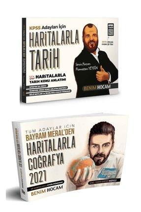 Benim Hocam Yayınları Kpss Haritalarla Tarih Ve Haritalarla Coğrafya Seti