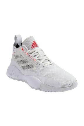 adidas Erkek Beyaz Bağcıklı  Basketbol Ayakkabısı