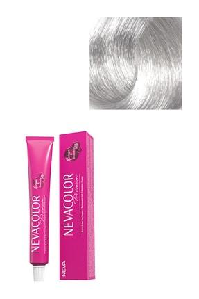 Neva Color Premium Kalıcı Saç Boyası 0.01 - Yoğun Gümüş Gri