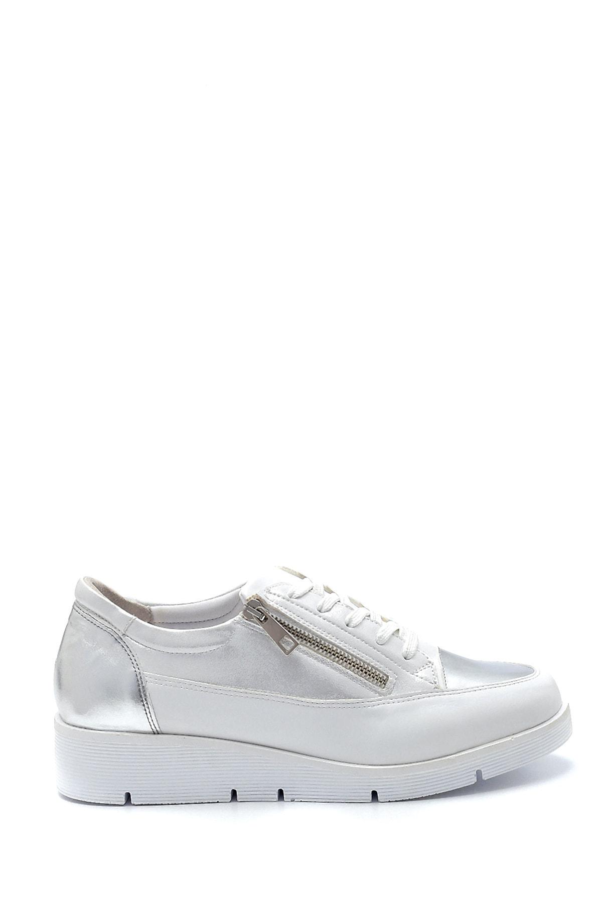 Derimod Kadın Fermuar Detaylı Sneaker 1
