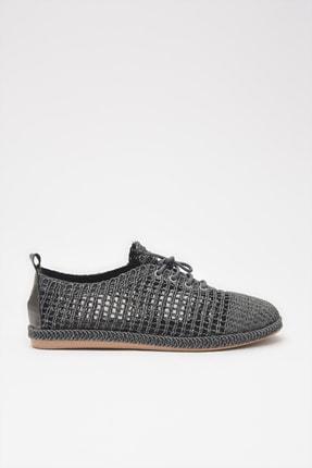 Yaya  by Hotiç Tekstil Gri Kadın Oxford Ayakkabı 01AYY208900A230
