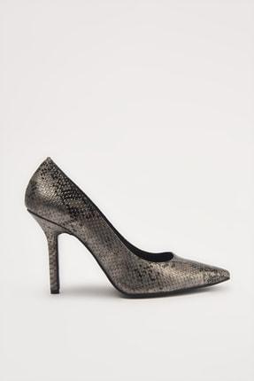 Hotiç Gri  Klasik Topuklu Ayakkabı 01AYH213610A230