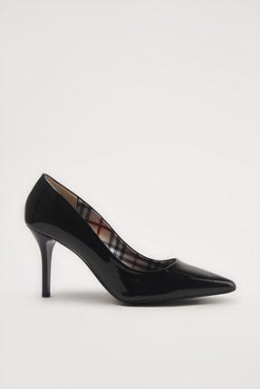 Hotiç Siyah  Klasik Topuklu Ayakkabı 01AYH213530A100