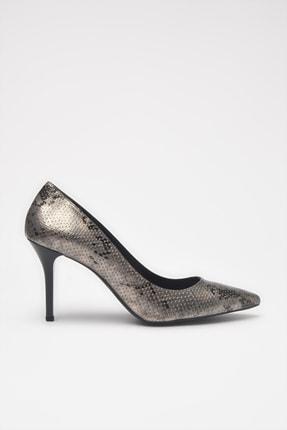 Hotiç Antrasit  Klasik Topuklu Ayakkabı 01AYH213550A250