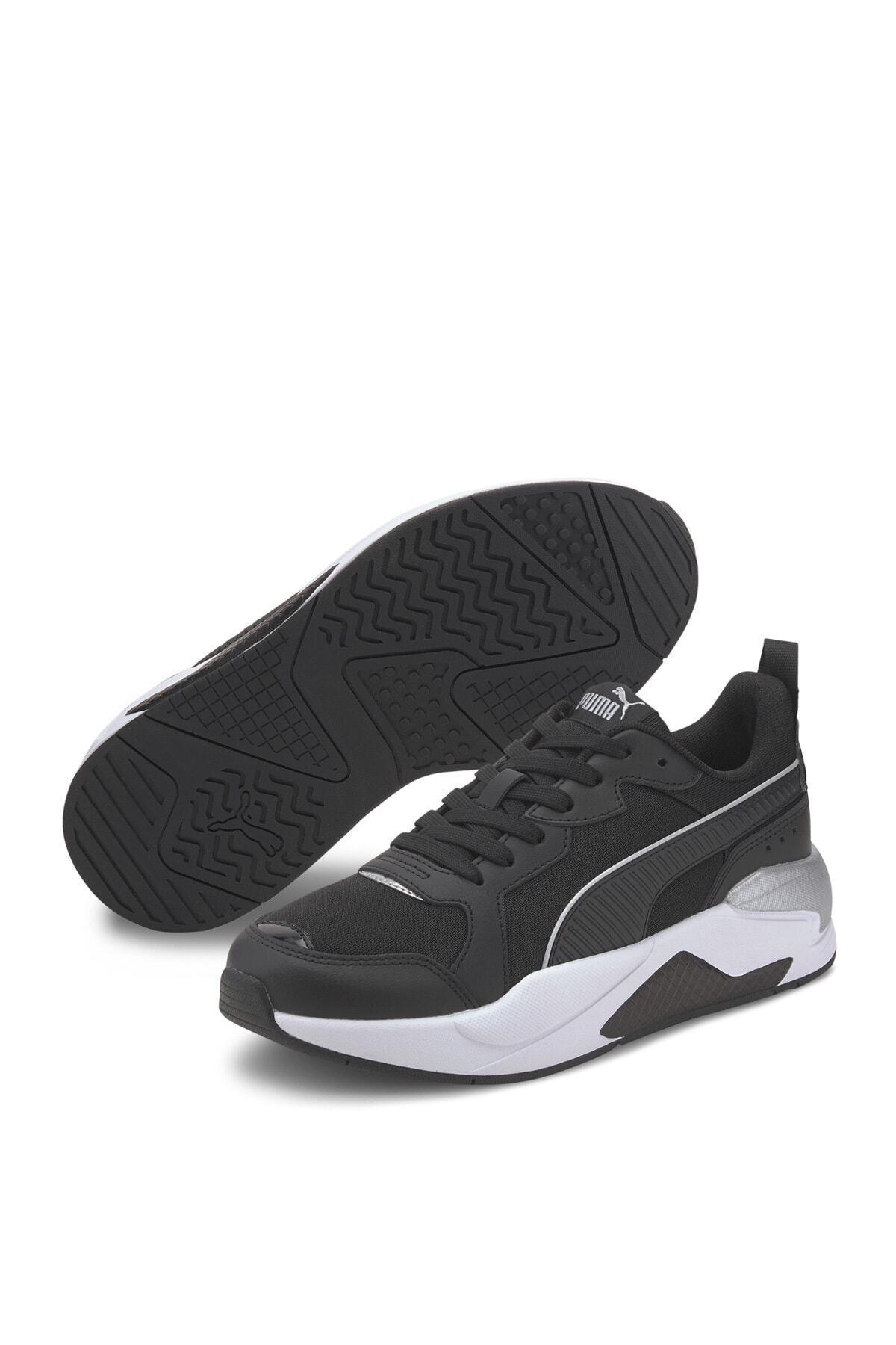 Puma X-RAY PATENT WN S PUMA BL Siyah Kadın Sneaker Ayakkabı 101085444 1