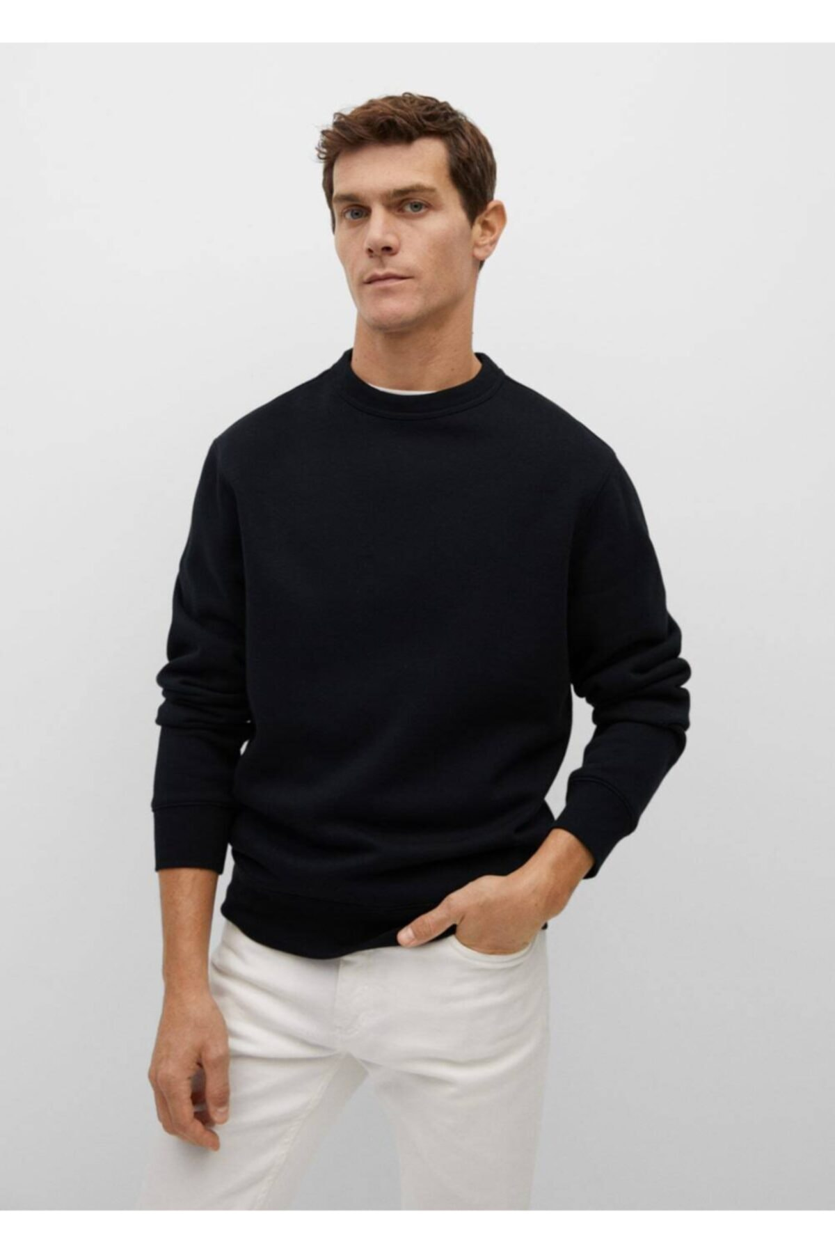 MANGO Man Peluş Sweatshirt 1