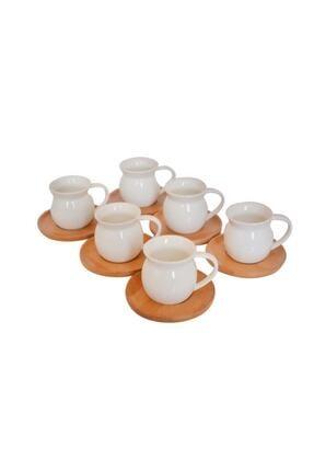 Bambum Torby 6 Kişilik Kahve Fincan Takımı