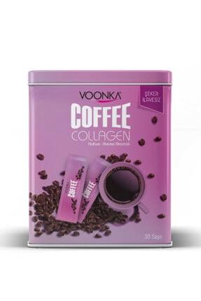 Voonka Coffee Collagen Cream 30 Saşe ( Kahve - Krema Aromalı, Şeker Ilavesiz )