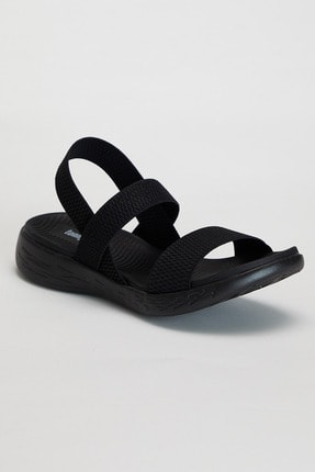 Tonny Black Kadın Siyah Sandalet Tbems