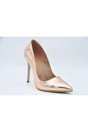 PUNTO Kadın Pembe Topuklu Stiletto 579040-