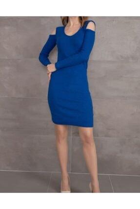 Mercan Kadın V Yaka Kısa Elbise