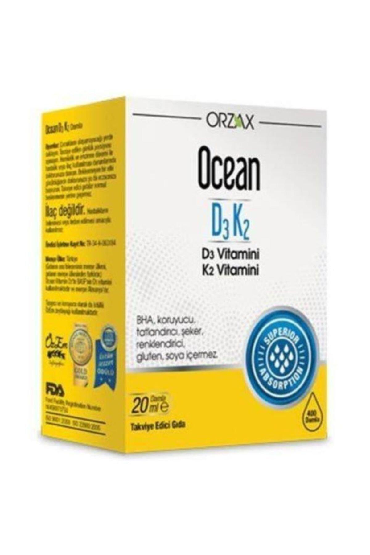 Ocean D3k2 Damla 20 ml 1