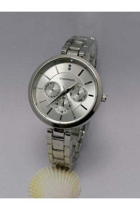 Choppers Kadın Gümüş Spor Kol Saati