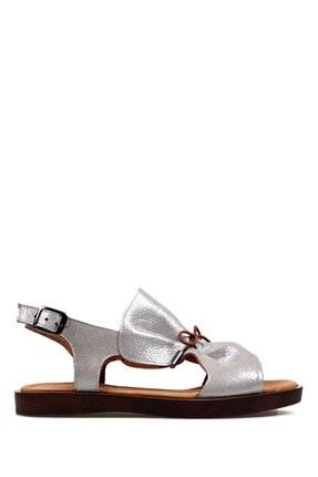 Hammer Jack Gümüş Kadın Terlik / Sandalet 542 592-z
