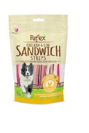 Reflex Plus Reflex Reflex Chicken Sandwich Strips Tavuk Çubuk Doğal Köpek Ödülü 80 Gr