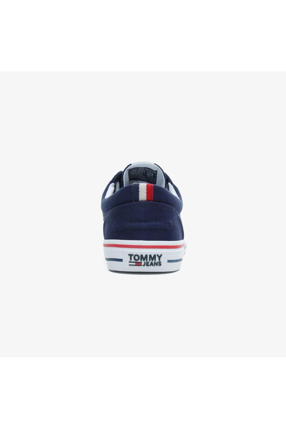Tommy Hilfiger Erkek Lacivert Textile  Spor Ayakkabı 2