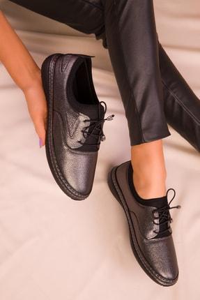 SOHO Platin Kadın Casual Ayakkabı 16152