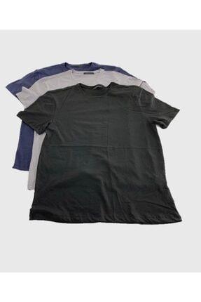 SCM LINGERIE Scm'en Lıngerıe 3lü Paket Basic Erkek T-shirt