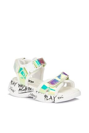 Vicco Tempo Iı Kız Bebe Gümüş Sandalet