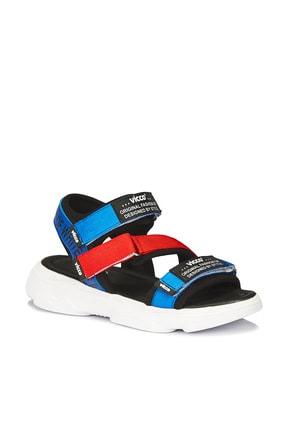 Vicco Chester Armalı Erkek Çocuk Saks Mavi Sandalet