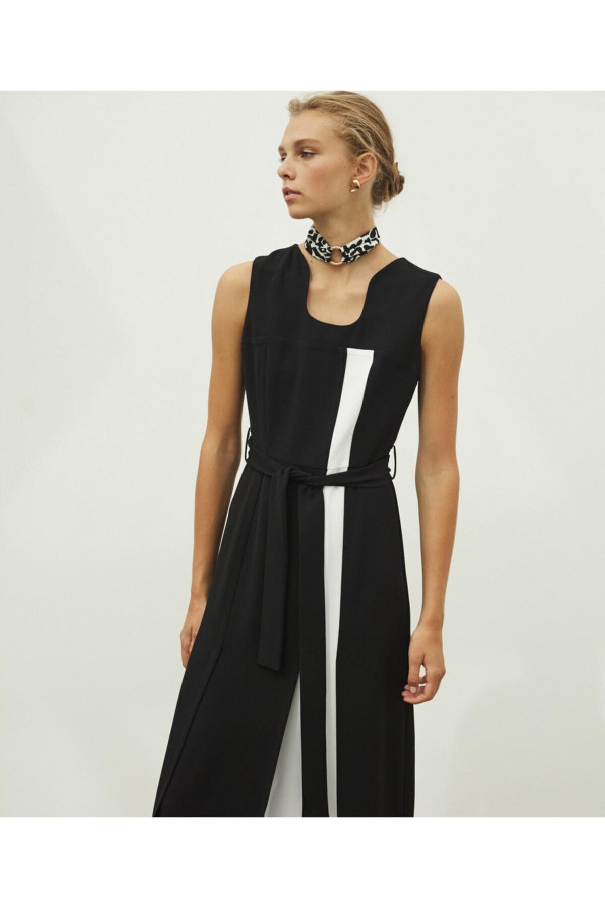 İpekyol Kuşaklı Elbise 1