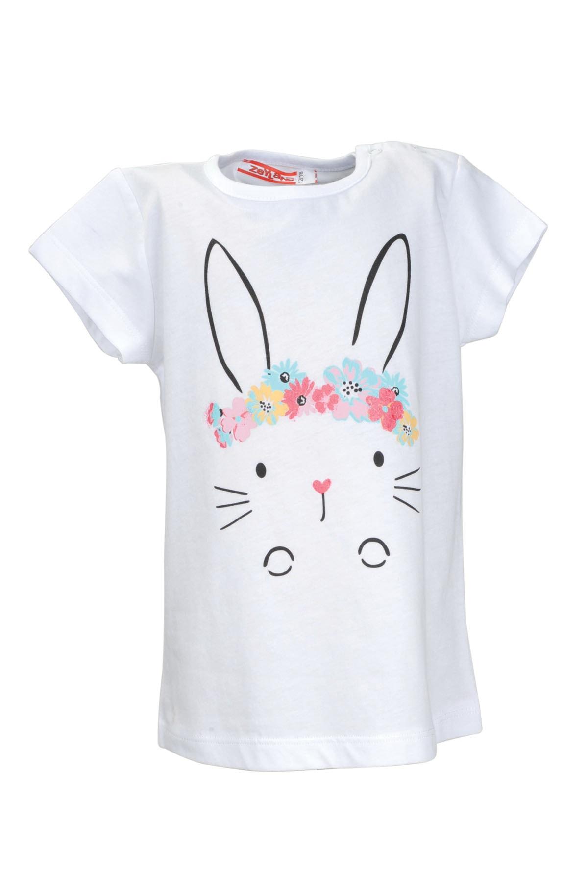 Zeyland Kız Bebek Beyaz Tshirt 1