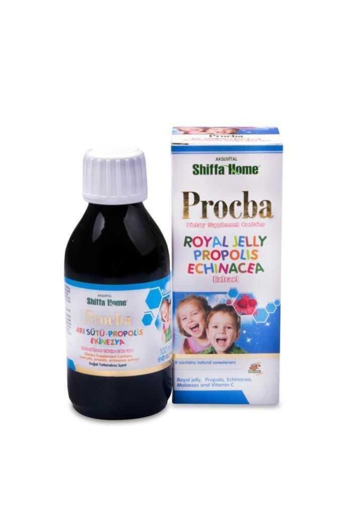 Aksu Vital Procba Provitec Arı Sütü Propolis Ekinezya Şurup 100ml 1