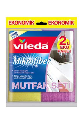 Vileda Mikrofiber Mutfak Bezi 2'li Eko Paket