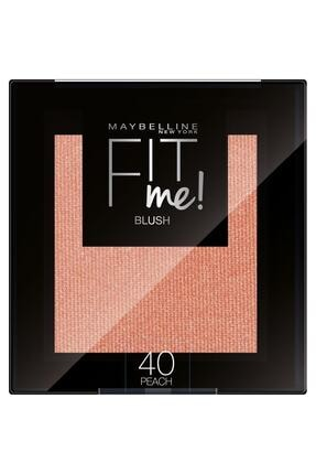 Maybelline New York Fit Me Blush 40 Peach Allık - 3600531537289