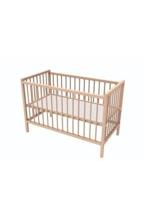 DBK Iki Kademeli Ahşap Bebek Karyolası